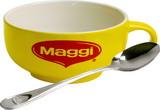 25 de premii constand in cate doua boluri din ceramica si doua linguri din inox inscriptionate cu logo-ul Maggi.<br /> <br />