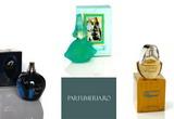 3 parfumuri, 6 carti, 3 DVD-uri, 6 CD-uri<br />