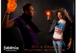"5 x albumul Paula Seling & Ovi - ""Playing with fire"""