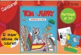 """10 x carte de colorat """"Tom si Jerry"""""""