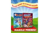 5 x DVD cu animatii, un set de 2 DVD-uri cu Tom si Jerry si Scooby-Doo