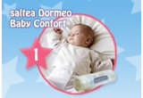 o saltea Dormeo Baby Comfort, un aparat pentru mamici Relax&Tone, o perna Dormeo Baby