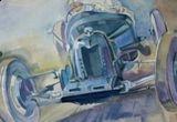 un tur al capitalei la bordul unui vehicul istoric antebelic + o masa la Carul cu Bere