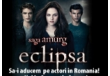 3 x invitatie dubla la filmul Saga Amurg: Eclipsa, la Hollywood Multiplex