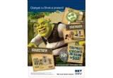 494.400 x premiu instant constand in capat de creion, 2.040 x premiu instant constand in MP3 player, 868.608 x premiu pahar din colectia Shrek
