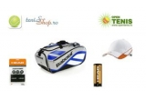 Babolat Club Line Tournament + Head Mingi Tenis Atp 4, Head Set Accesorii + Head Sapca Radical