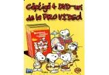 """4 x DVD """"Reuniunea Familiei lui Snoopy"""""""