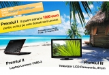 plata unui curs ales de tine a carui valoare nu depaseste 1000 de euro, un laptop Lenovo, un televizor LCD Panasonic