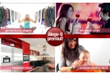 la alegere: o vacanta de vis, o garderoba noua, produse pentru micut sau aparate de bucatarie, 30 x premiu surpriza