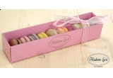 5 x cutie de prajituri Macarons