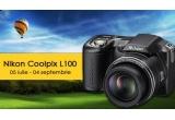 un aparat foto digital Nikon Coolpix L100, un cont Administrator pe www.imagini-noi.com, un cont VIP pe www.imagini-noi.com
