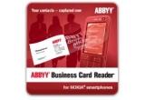 10 x licenta ABBYY Business Card Reader 2.0 pentru Nokia cu Symbian S60