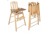 un scaun inalt ultra pliant