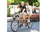 3 x o bicicleta in tandem
