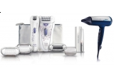 un epilator Philips HP6578, 2 x uscator de par Philips HP4996
