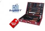 un set gratar 25 piese lemn rosu BergHOFF