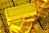 15 x lingou de 5 grame de aur 24 Karate