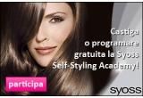 150 x programare gratuita (pentru 2 persoane) la Syoss Self-Styling Academy