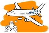 doua bilete de avion catre orice destinatie Blue Air dus - intors / saptamana