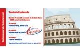 o excursie de 5 zile la Roma + 1000 euro bani de buzunar, 2 x televizor diagonala 82 cm, 2 x Sistem Audio 5.1, 2 x telefon mobil