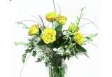 un buchet de flori
