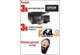 3 x Multifunctional Foto – marca Epson, 3 x curs de fotografie oferit de F64, un ceas marca Timex
