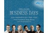 o invitatie gratuita la cea de-a doua editie a Tirgu-Mures Business Days, 3 DVD-uri cu workshopurile ce s-au desfasurat in cadrul primei editii a Tirgu-Mures Business Days