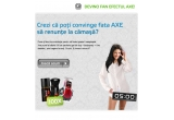 100 x kit-Axe (deodorant Axe 150ml + gel de dus Axe 250ml + puf de dus Axe)