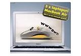 3 x MacBook Air, 100 x un an de tranzactii gratuite (comision 0 la tranzactii pe Raiffeisen Online pentru tranzactiile in Lei pentru perioada ianuarie 2011 - decembrie 2011)