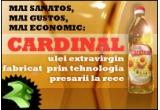 5 sticle de ulei de floarea soarelui CARDINAL