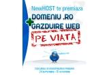 un domeniu .ro + un pachet de gazduire web pe viata