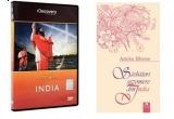 "5 x DVD Discovery (""India"") + cartea ""Sarbatori sezoniere din India"""