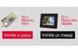 50 x memory stick, 50 x rama foto digitala