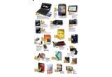 "1 x laptop, 2 x HTC Wilfire, 3 x GPS MIO, 2 x procesor AMD, 3 x mediaserver, 1 x camera foto, 2 x mouse, 11 x camera web, 3 x Microsoft Office, 40 x antivirus, 11 x placa video AMD, 40 x joc, 30 x cartea ""Cum sa ajungi in TOP pe Google"", 30 x abonament pe 3 luni la revista CHIP, 27 x CHIP Level Foto Video Digital PC-Practic, 4 x set Canyon"