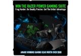 un kit complet de gaming, 10 x mouse / pereche de casti / tastatura, 1337 x set Razer L33t