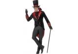 un costum Dracula, un costum Dracula, o pelerina Halloween + un schelet fosforescent