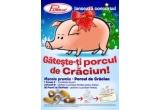 Porcul de Craciun, o jumatate porc, 3 x pachet cu produse Pambac pentru Craciun, 50 x pachet cu produse Pambac