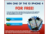 10 x telefon mobil iPhone 4