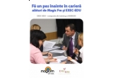 un curs de 6 luni de Project Management cu o valoare de 1140 de euro