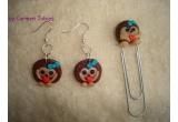 un set de accesorii fimo handmade