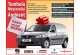 o masina Dacia Logan VAN, 1000 x premiu garantat: unelte + echipamente de lucru, 30 x jumatate de porc de Craciun
