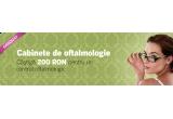 un voucher de 200 RON pentru un control oftalmologic