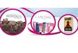 """o geanta Benvenuti + un set de cosmetice Lacome + cartea lui Dan Brown - """"Simbolul Pierdut"""" / zi"""