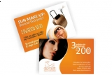 un card cu 3 sedinte Sun Make-up la Chocolate The Tanning Bar