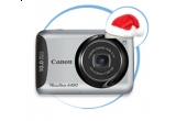 un aparat foto Canon Powershot A490