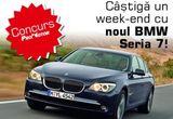 Un weekend cu noul BMW Seria 7 si o invitatie dubla la cea mai tare petrecere de Mos Niculae