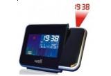 un ceas digital cu proiector si statie meteo