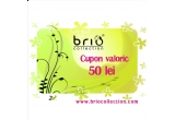 3 x voucher de cumparaturi pe site-ul briocollection in valoare de 50 RON