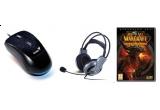 un joc World of Warcraft: Cataclysm + un mouse Navigator G500 + o pereche de casti HS-04V, 2 x un mouse Navigator G500 + o pereche de casti HS-04V, 2 x o pereche de casti HS-04V