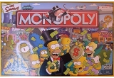 un Monopoly - The Simpsons + un badge special